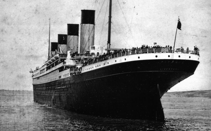 A sinking ship